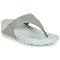 Zapatos Mujer Chanclas FitFlop LULU SHIMMER TOE POST Plata
