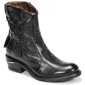 Zapatos Mujer Botas de caña baja Airstep / A.S.98 IGNIX Negro