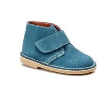 Zapatos Niña Botines Cbp - Conbuenpie Botines Safari de piel by CBP Bleu