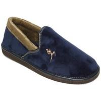 Zapatos Hombre Pantuflas Cbp - Conbuenpie Zapatillas de casa para hombre by CBP Home Bleu
