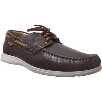 Zapatos Hombre Zapatos náuticos Mephisto GIACOMO Cuero marrón