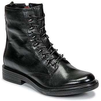 Zapatos Mujer Botas de caña baja Mjus CAFE Negro