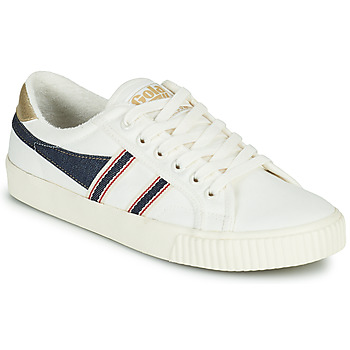 Zapatos Mujer Zapatillas bajas Gola TENNIS MARK COX SELVEDGE Blanco / Azul