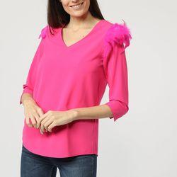 textil Mujer Tops / Blusas La Morena LA-260733 ROSA