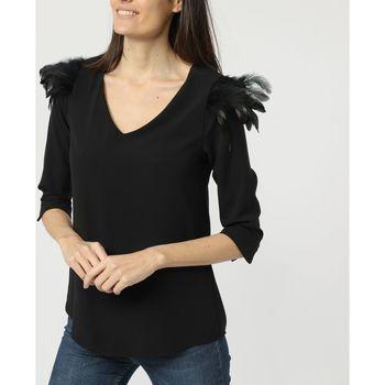 textil Mujer Tops / Blusas La Morena LA-260733 NEGRO