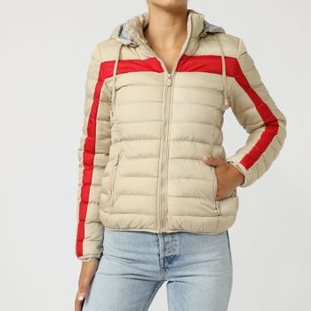 textil Mujer Plumas Gboy 50A316 BEIGE