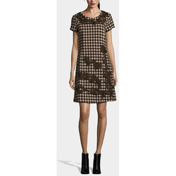 textil Mujer Vestidos cortos Anany AN-L2953 MARRON