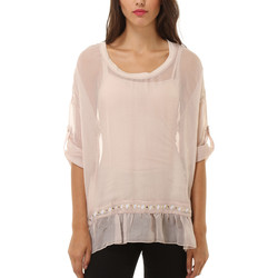 textil Mujer Tops / Blusas Anany AN-040326 BEIGE