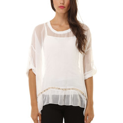 textil Mujer Tops / Blusas Anany AN-040326 BLANCO
