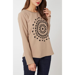 textil Mujer Tops / Blusas Anany AN-090012 BEIGE