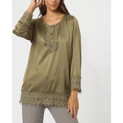 textil Mujer Tops / Blusas Anany AN-230287 KAKI