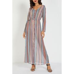 textil Mujer Vestidos largos Love&money L15088F NARANJA