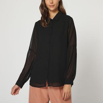 textil Mujer Camisas La Morena LA-260954 NEGRO