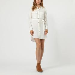 textil Mujer Vestidos cortos Anany AN-230284 BLANCO