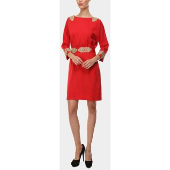 textil Mujer Vestidos cortos Anany AN-190180 ROJO