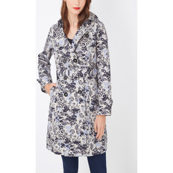 textil Mujer Trench Anany D7752 AZUL