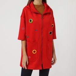 textil Mujer Abrigos Modaland 900016 ROJO