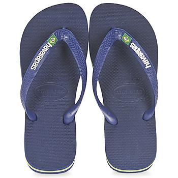 Zapatos Chanclas Havaianas BRASIL LOGO Marino