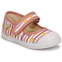 Zapatos Niña Bailarinas-manoletinas Citrouille et Compagnie APSUT Rosa / Estampado
