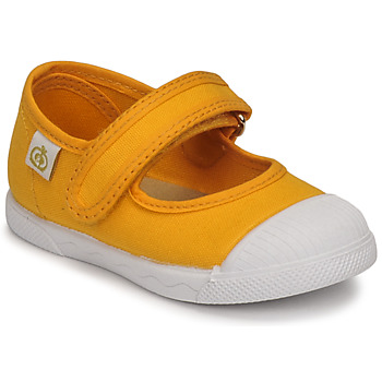Zapatos Niña Bailarinas-manoletinas Citrouille et Compagnie APSUT Amarillo