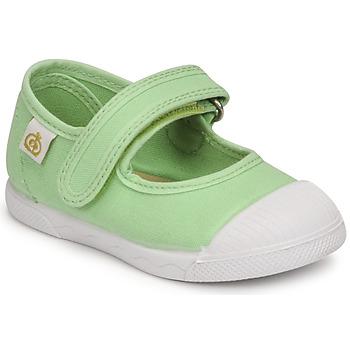 Zapatos Niña Bailarinas-manoletinas Citrouille et Compagnie APSUT Pistacho