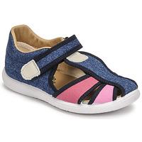 Zapatos Niña Sandalias Citrouille et Compagnie GUNCAL Azul / Jeans