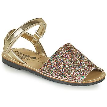 Zapatos Niña Sandalias Citrouille et Compagnie SQUOUBEL Multicolor