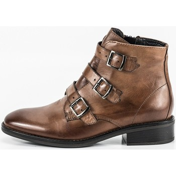 Zapatos Mujer Botines Oxyd WH-272H18 Beige