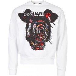 textil Hombre Sudaderas Dsquared Jersey & Cardigans S71GU0312 - Hombres blanco
