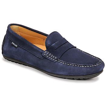 Zapatos Hombre Mocasín Pellet Cador Azul