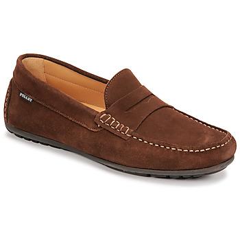 Zapatos Hombre Mocasín Pellet Cador Marrón