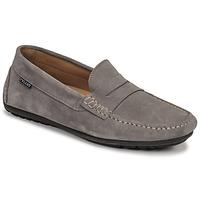 Zapatos Hombre Mocasín Pellet Cador Gris