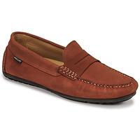 Zapatos Hombre Mocasín Pellet Cador Rojo