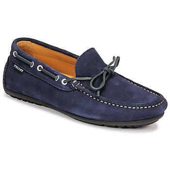 Zapatos Hombre Mocasín Pellet Nere Azul