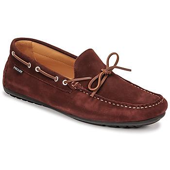 Zapatos Hombre Mocasín Pellet Nere Burdeo
