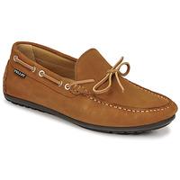 Zapatos Hombre Mocasín Pellet Nere Marrón