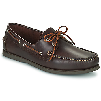 Zapatos Hombre Zapatos náuticos Pellet Vendée Marrón