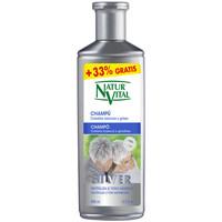 Belleza Champú Naturaleza Y Vida Champú Silver Cabello Blanco Y Gris  400 ml
