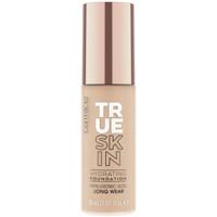 Belleza Mujer Base de maquillaje Catrice True Skin Hydrating Foundation 030-neutral Sand 30 ml