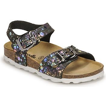 Zapatos Niña Sandalias Citrouille et Compagnie RELUNE Negro