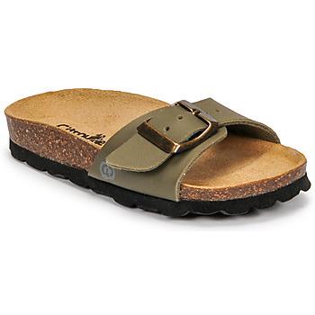 Zapatos Niño Zuecos (Mules) Citrouille et Compagnie OKIKOU Kaki