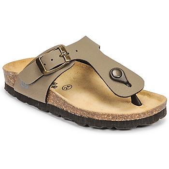 Zapatos Niño Zuecos (Mules) Citrouille et Compagnie OKOKO Kaki