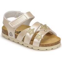 Zapatos Niña Sandalias Citrouille et Compagnie OKILIA Oro