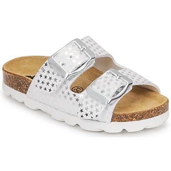 Zapatos Niña Zuecos (Mules) Citrouille et Compagnie MISTINGUETTE Blanco / Estrella