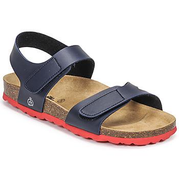 Zapatos Niño Sandalias Citrouille et Compagnie BELLI JOE Marino / Rojo