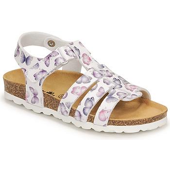 Zapatos Niña Sandalias Citrouille et Compagnie MALIA Blanco / Estampado