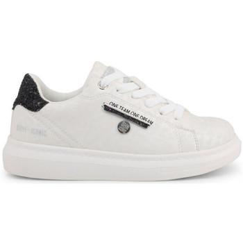 Zapatos Niños Zapatillas bajas Shone - s8015-003 Blanco