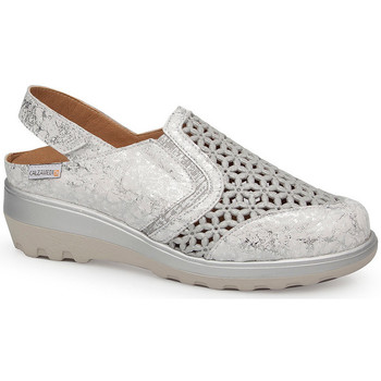 Zapatos Mujer Sandalias Calzamedi 0728 BLANCO