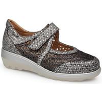 Zapatos Mujer Derbie & Richelieu Calzamedi S  0729 NEGRO
