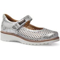 Zapatos Mujer Bailarinas-manoletinas Calzamedi LETINAS  0690 PLATA